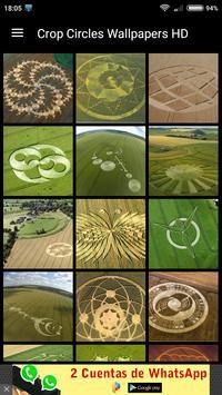 Crop Circles Wallpapers HD poster