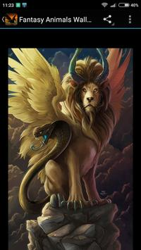 Fantasy Animals Wallpapers apk screenshot