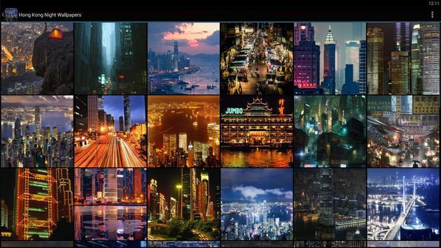 Hong Kong Night Wallpapers apk screenshot
