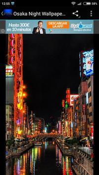 Osaka Night Wallpaper screenshot 1