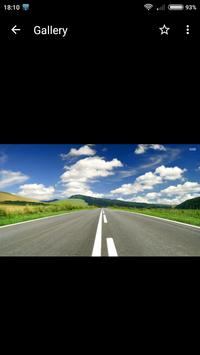 Road Wallpapers HD screenshot 1