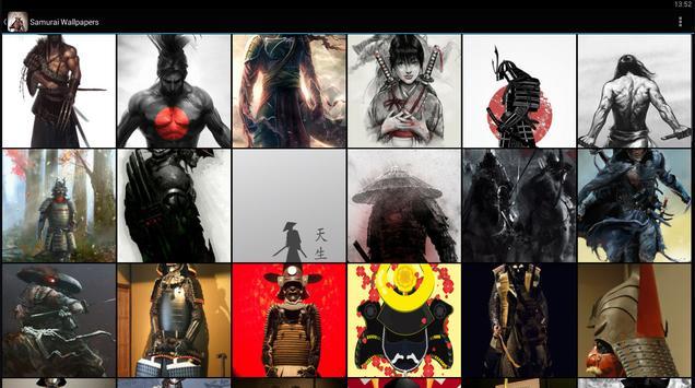 Samurai Wallpapers apk screenshot