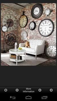 Wall Clock Decor Ideas poster