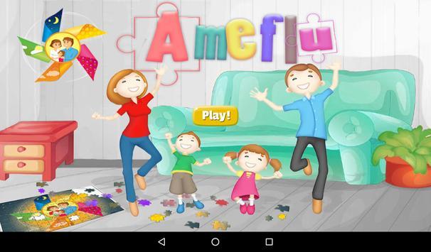 Ameflu - C&F symptom puzzle poster