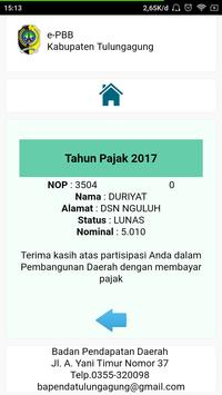 ePBB Kabupaten Tulungagung screenshot 17