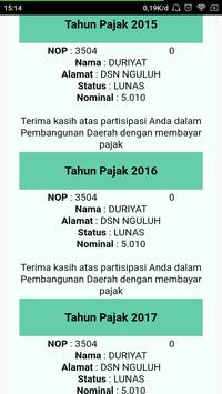 ePBB Kabupaten Tulungagung screenshot 19