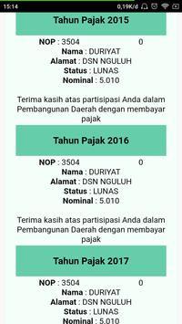 ePBB Kabupaten Tulungagung screenshot 4