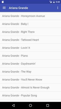 Ariana Grande Lyrics and Songs screenshot 1