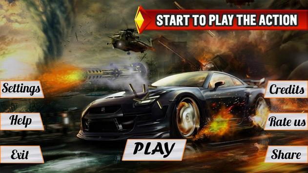 Mad Death Race: Max Road Rage screenshot 10