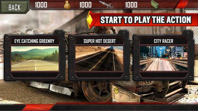 Mad Death Race: Max Road Rage screenshot 1