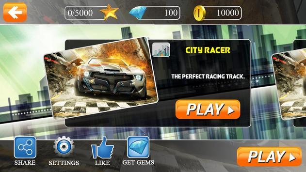 Smash Cars City Racer 3D screenshot 9