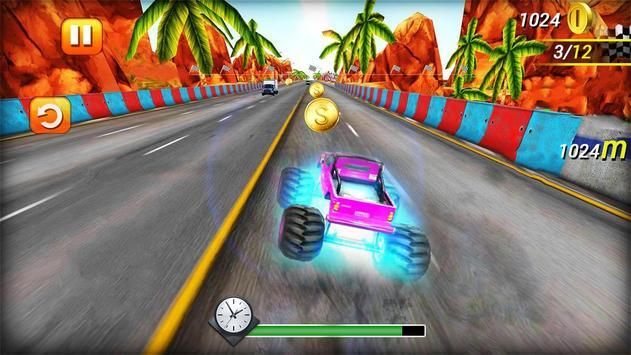 Smash Cars City Racer 3D screenshot 1