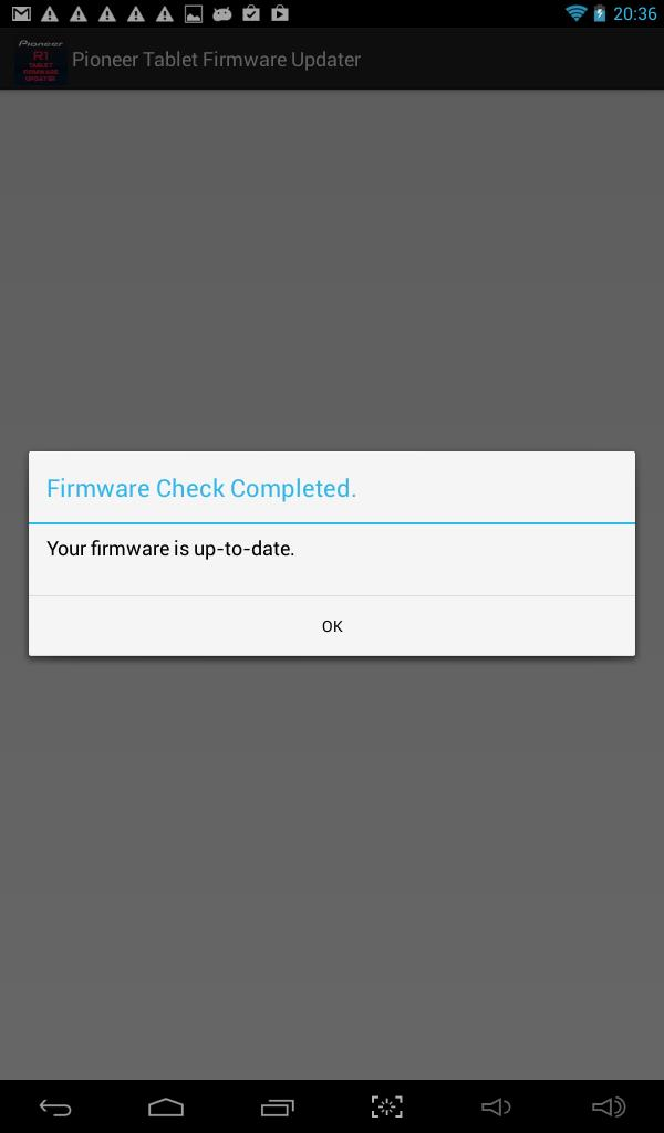 Pioneer Tablet Firmware Update for Android - APK Download