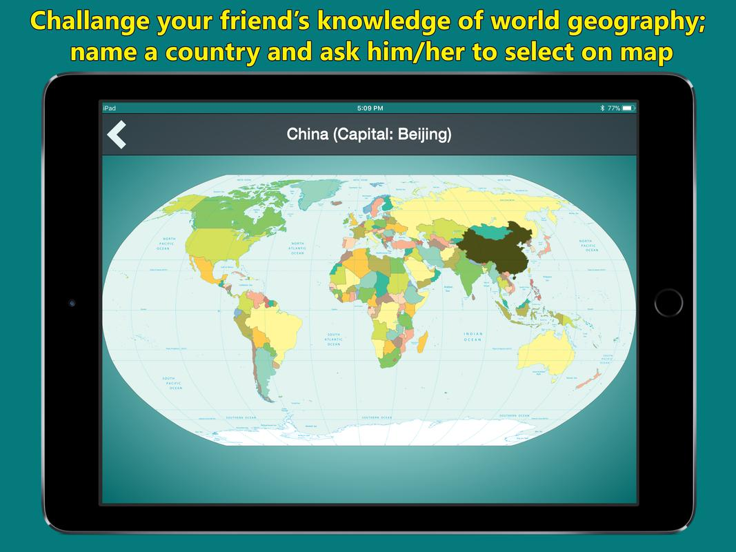 World map geography quiz for android apk download world map geography quiz captura de pantalla 5 gumiabroncs Choice Image