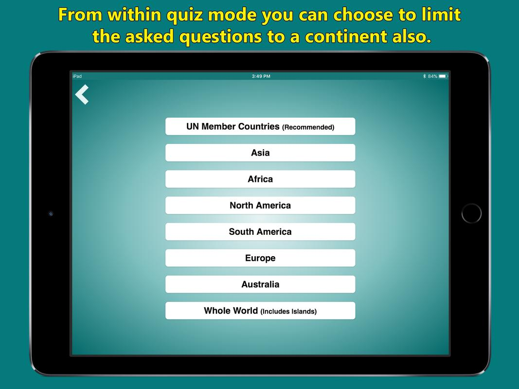 World map geography quiz for android apk download world map geography quiz captura de pantalla 7 gumiabroncs Choice Image