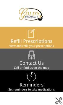 Gold's Pharmacy poster