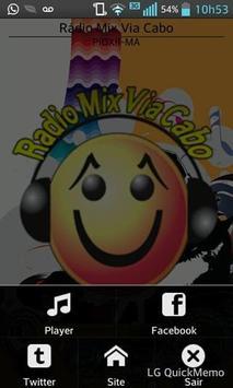 Radio Mix Via Cabo screenshot 1