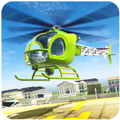 Helicopter Flight Pilot : Flying Simulator 3D 2018 icon