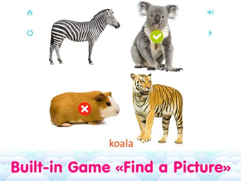 Animal sounds and flashcards for Kids screenshot 6