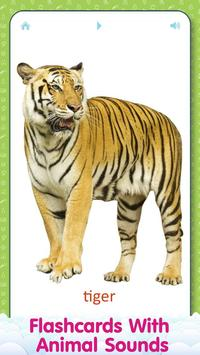 Animal sounds and flashcards for Kids poster