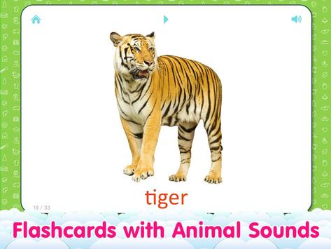 Animal sounds and flashcards for Kids screenshot 10