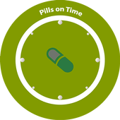 Pills on Time icon