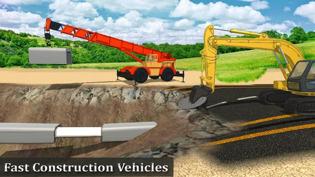 heavy construction mega road builder for android apk download