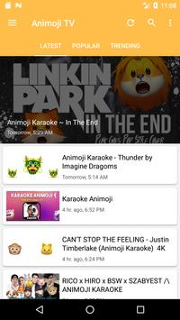 Animoji Karaoke TV постер