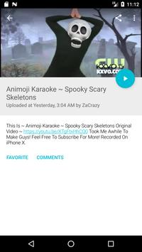 Animoji Karaoke TV скриншот 7