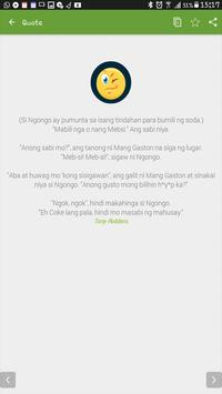 Pinoy Jokes And Quotes apk screenshot