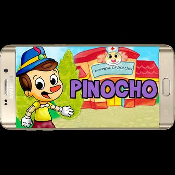 Pinocho song free poster