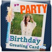 birthday invitation free icon