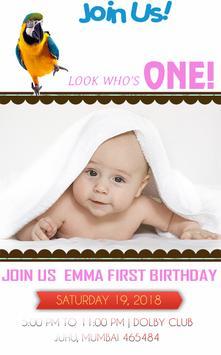 birthday invitation free poster