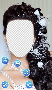 Bridal Hair Style Photo Frames screenshot 3