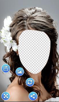 Bridal Hair Style Photo Frames screenshot 5