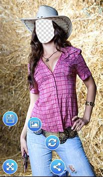 Cowgirl Photo Frames apk screenshot