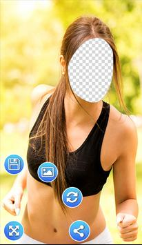 Fitness Outfits Photo Frames apk screenshot