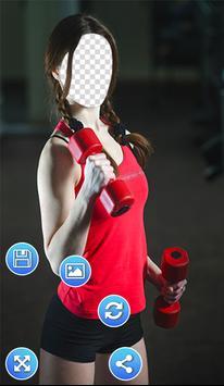 Fitness Outfits Photo Frames apk screenshot