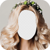 Flowers Hairstyle Photo Frames icon