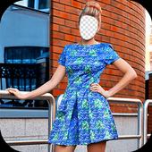 Girl Dress Photo Frames icon