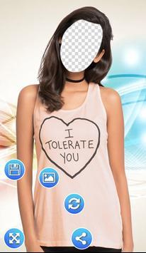 Girls Wear Photo Frames screenshot 2