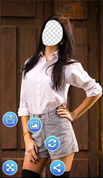 Girls Wear Photo Frames screenshot 3