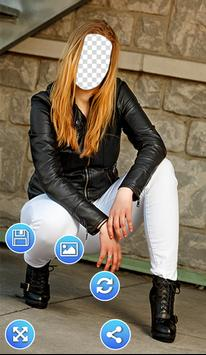 Jacket Photo Frames apk screenshot