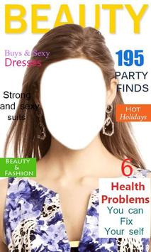 Magazine Cover Photo Effects poster