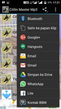 Cililin Master Mp3 apk screenshot