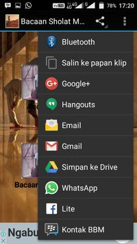 Bacaan Sholat Mp3 screenshot 4