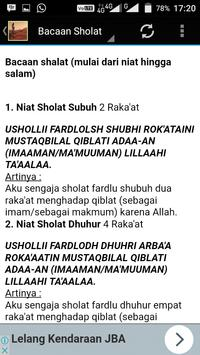 Bacaan Sholat Mp3 screenshot 3
