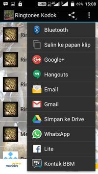 Ringtones Kodok apk screenshot