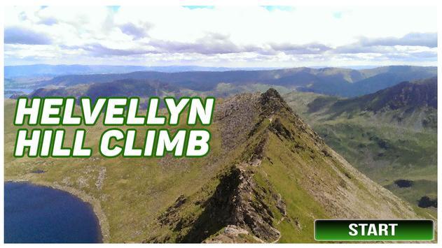 Helvellyn Hill Climb poster