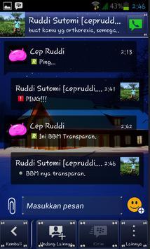 Dual BBM Clone Edition V-2.9 apk screenshot